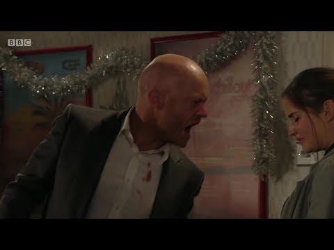 EastEnders - Max Branning Rages At Jack, Lauren & Abi Branning (7th December 2017)
