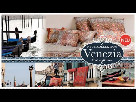 die neue kollektion venezia von bassetti im herbst winter 2014 youtube. Black Bedroom Furniture Sets. Home Design Ideas