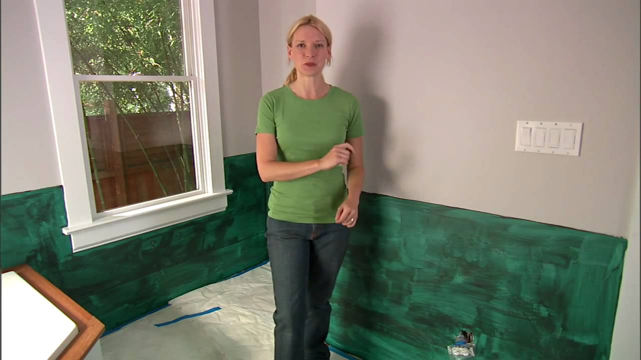 Install A Pebble Tile Accent Wall Measure And Prep Youtube