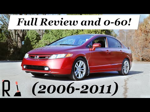 2007 Honda Civic SI Review - The Guilt-free Sports Sedan (8th Gen)