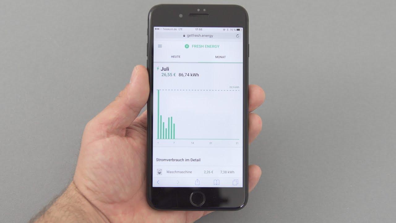 Smartphone Stromverbrauch
