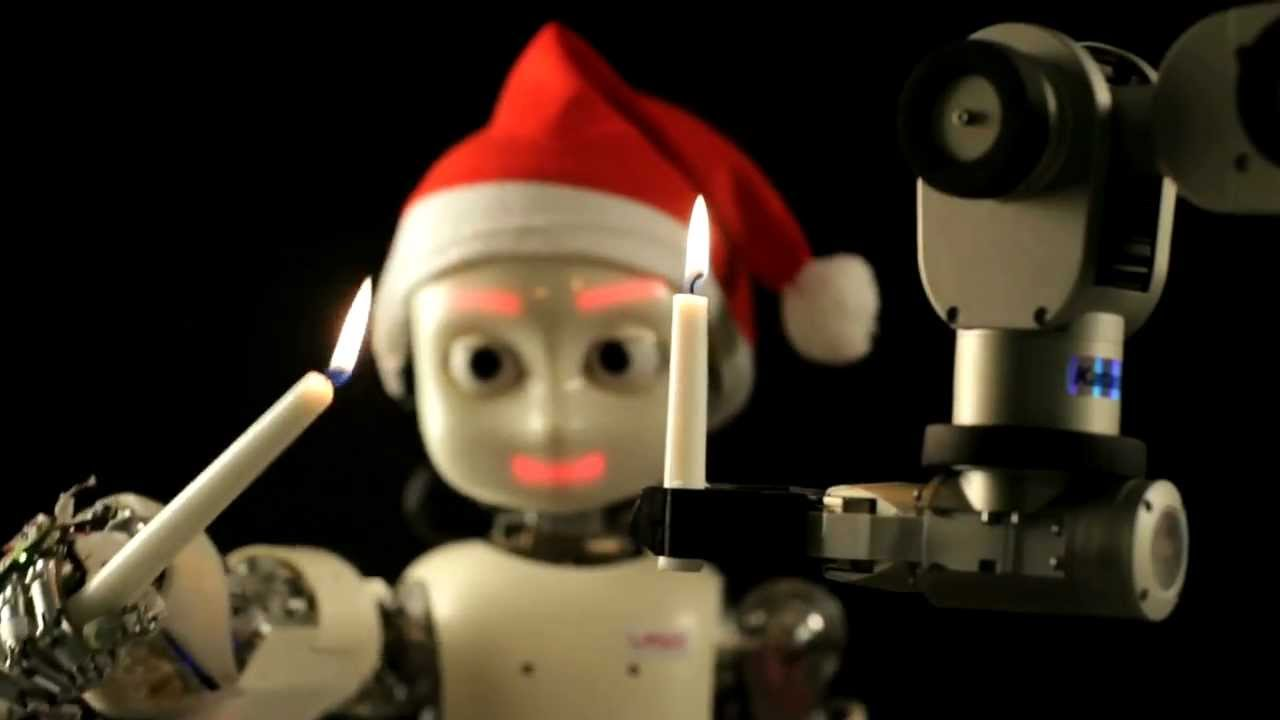 A Robot Christmas YouTube