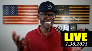 🔴 ABL LIVE: Wall Street Drama, BLM Nobel Peace Prize, 42 Biden Executive Orders, and more!