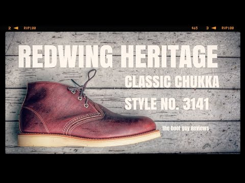 REDWING heritage STYLE NO. 3141 [ THE BOOT GUY REVIEWS ]