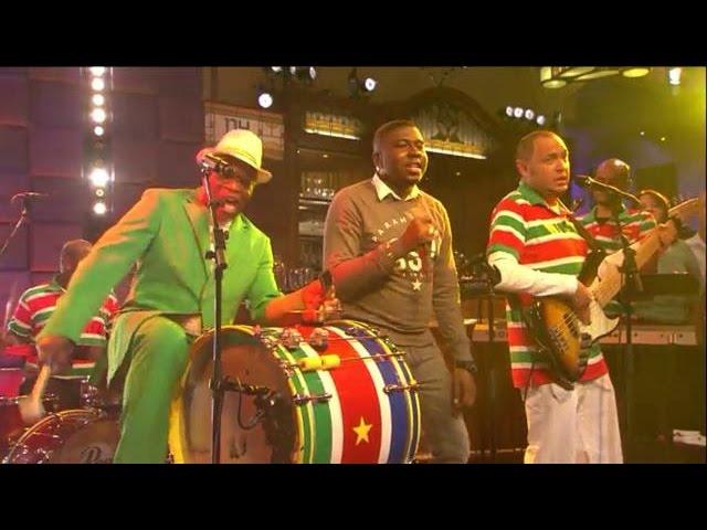 Damaru - Mi Rowsu & Edgar Burgos - Medley - RTL LATE NIGHT