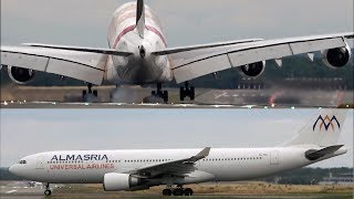DUESSELDORF Airport Planespotting 2019 with Emirates A380 EXPO 2020 Special Livery
