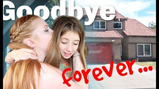 *emotional* saying GOODBYE forever to our first home....