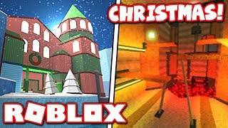 *NEW* CHRISTMAS UPDATE in FLOOD ESCAPE 2!! TWO OLD MAPS HAVE RETURNED?! (Roblox)