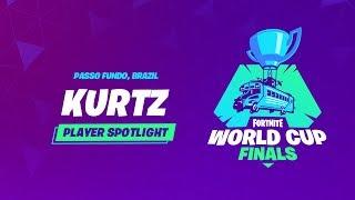 Fortnite World Cup FInals - Player Profile - Kurtz
