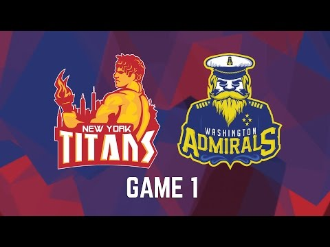 New York Titans vs. Washington Admirals - Game 1