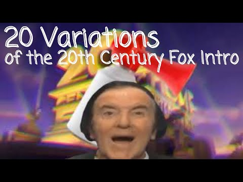 20 Variations of the 20th Century Fox Intro