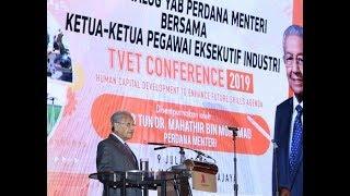 Dr. M fordert die Industrie auf die Arbeit mit den Berufsschulen zu schaffen, Fachkräfte