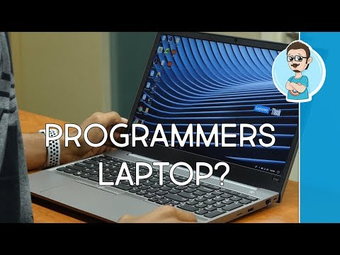 Lenovo ThinkPad E580 Review   An Affordable Programmers Laptop!