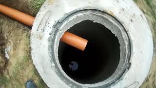 вечная канализация и водопровод из колодца