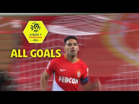 All Radamel Falcao Goals | season 2017-18 | Ligue 1 Conforama