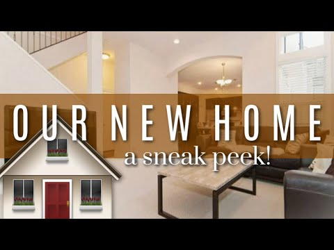 SNEAK PEEK OF OUR NEW HOME! From 800 sq ft to....