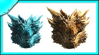 Viserion vs Drogon Size Comparison   Game of Thrones Season 8