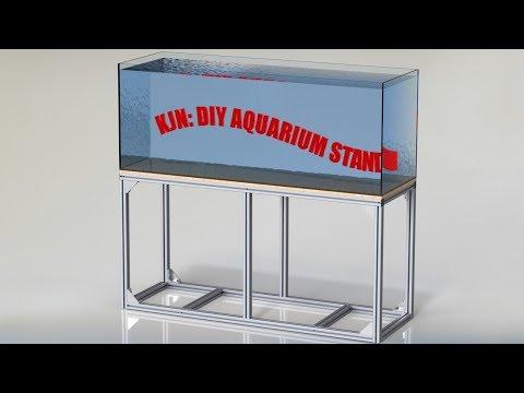 KJN: DIY ALUMINIUM AQUARIUM STAND, T SLOT FISH TANK STAND