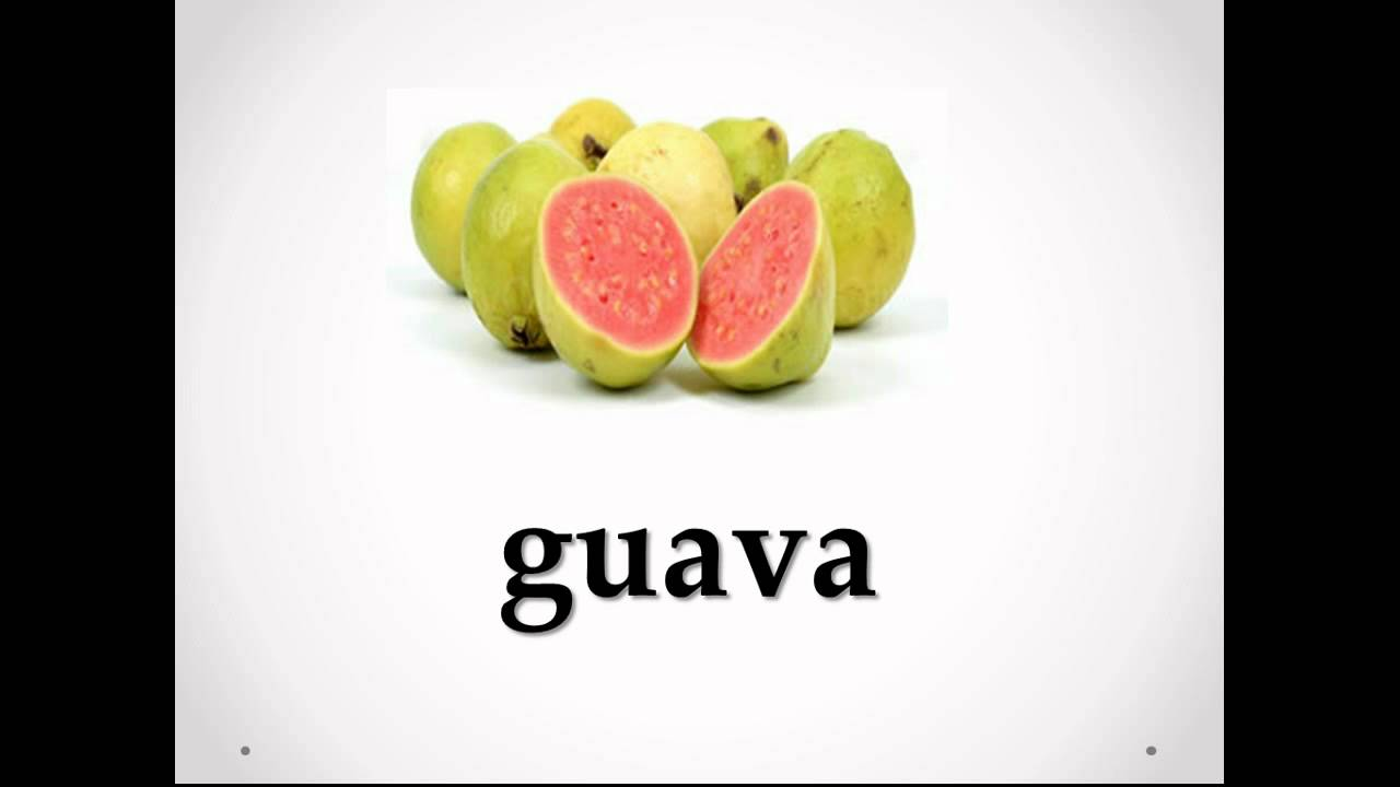 Inglês Frutas