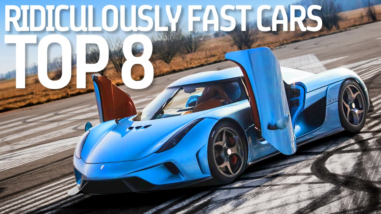 Top 8 Ridiculously Fast Hybrid Cars - Formula E - YouTube