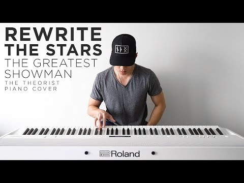 The Greatest Showman (Zac Efron & Zendaya) - Rewrite the Stars | The Theorist Piano Cover