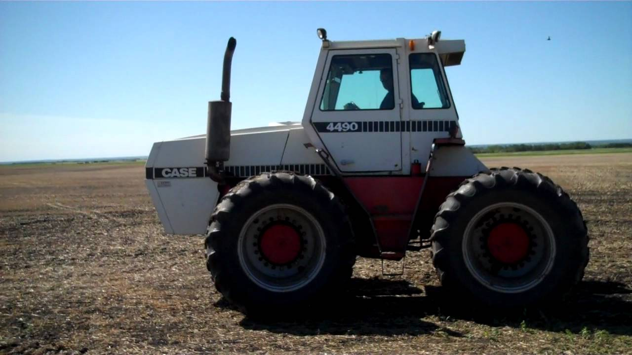 Case 4490 Tractor : Domres case april mack auction co lemberg