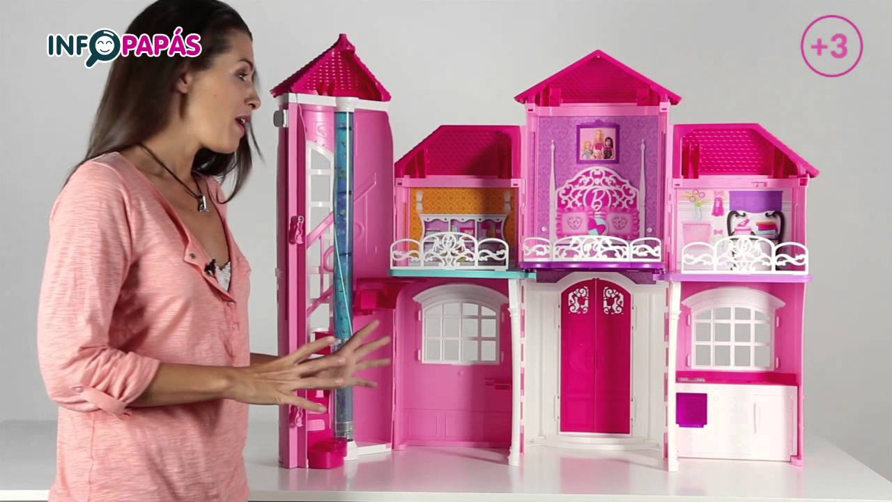 Barbie mansi n de malibu youtube - Casa de barbie ...
