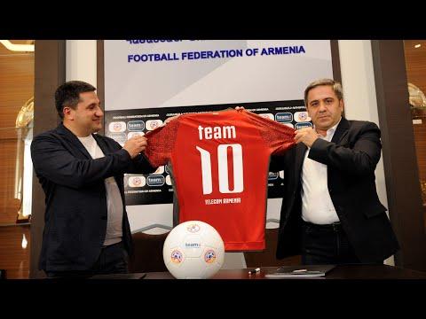 Team Telecom Armenia-ն՝ Հայաստանի հավաքականի պաշտոնական գործընկեր