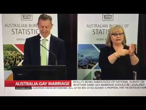 Australia Votes YES to Marriage Equality (November 15th, 2017)