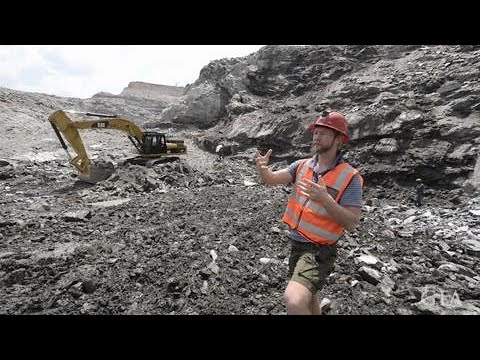 Mining For Emeralds In The Kagem Open Pit