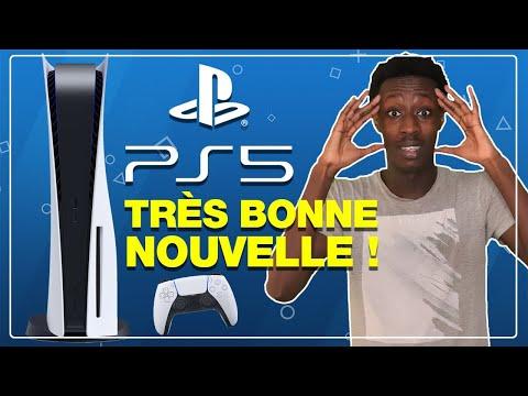 PS5 : Une BONNE NOUVELLE pour la PLAYSTATION 5 ! 🥰