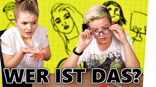 Kannst DU diese YouTuber ERRATEN? - DRAW CHALLENGE