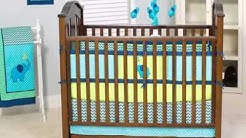 New Pam Grace Creations Zigzag 10 Piece Baby Crib Bedding Set, Teal Lime Deal