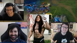 """""""Imaqtpie Coming In HOT!"""" The Dream Meme Team Is Back With A New Recruit   FreeTyler1 On LCS   LoL"""
