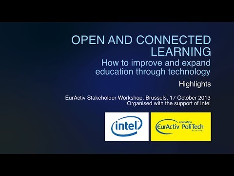 Open and Connected Learning: How to improve and expand education through technology