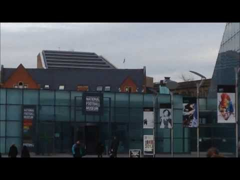 The National Football Museum in Manchester: UK