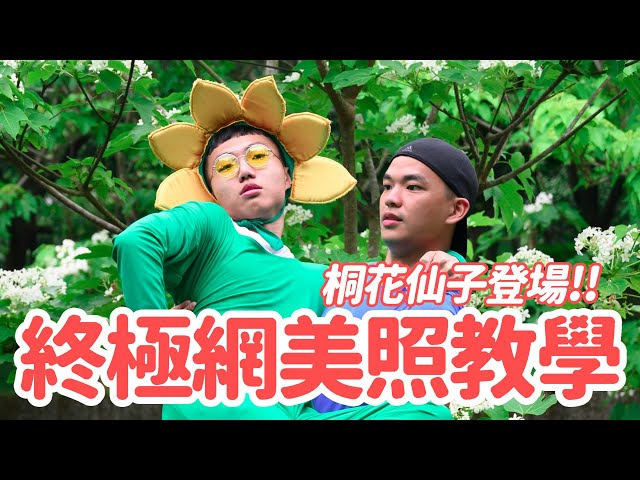 桐花林裡驚見巨大花仙子!教你如何拍出專業網美照!