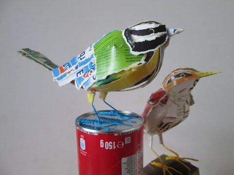 Origami vogel anleitung einfach. Vogel aus Papier basteln.