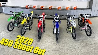 Motocross Action's 2020 450 Shootout