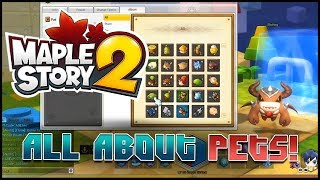 Maplestory 2 - [Guide] - All About Pets!