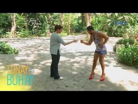 """Tunay na Buhay: Sinon """"Rogelia"""" Loresca at Rhea Santos, naglaban ng Jack N' Poy"""