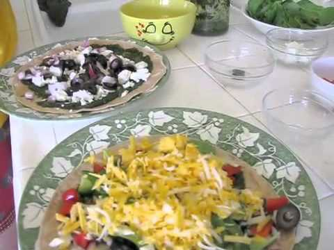 Bakersfield Mexican Pizza Recipe BBQed!—Totally Healthy—make it organic!