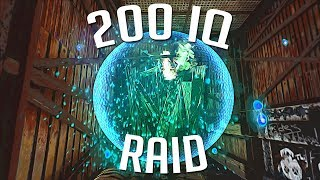 SOLO COUNTER RAID and 200 IQ RAIDING their RAID BASE - Rust