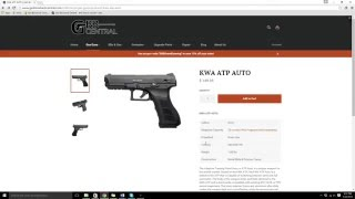 Gas Blowback Central Online Store Product Page Review
