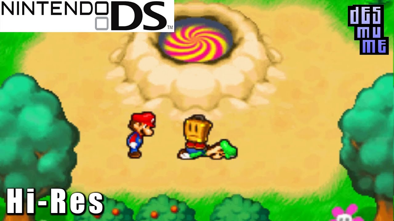 Mario Luigi Partners In Time Nintendo Ds Gameplay High