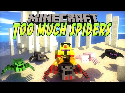 [FR]-Présentation de mods : Too much Spiders-{Minecraft 1.7.10]