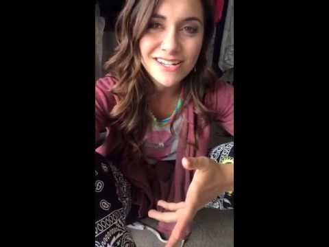 Singer, Actress, and Dancer, Alyson Stoner, Joins Our #SelfLove Campaign