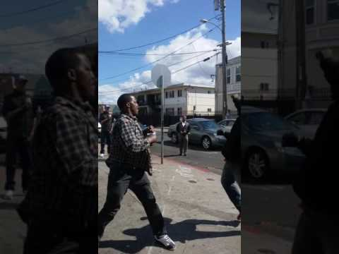 East Oakland fight