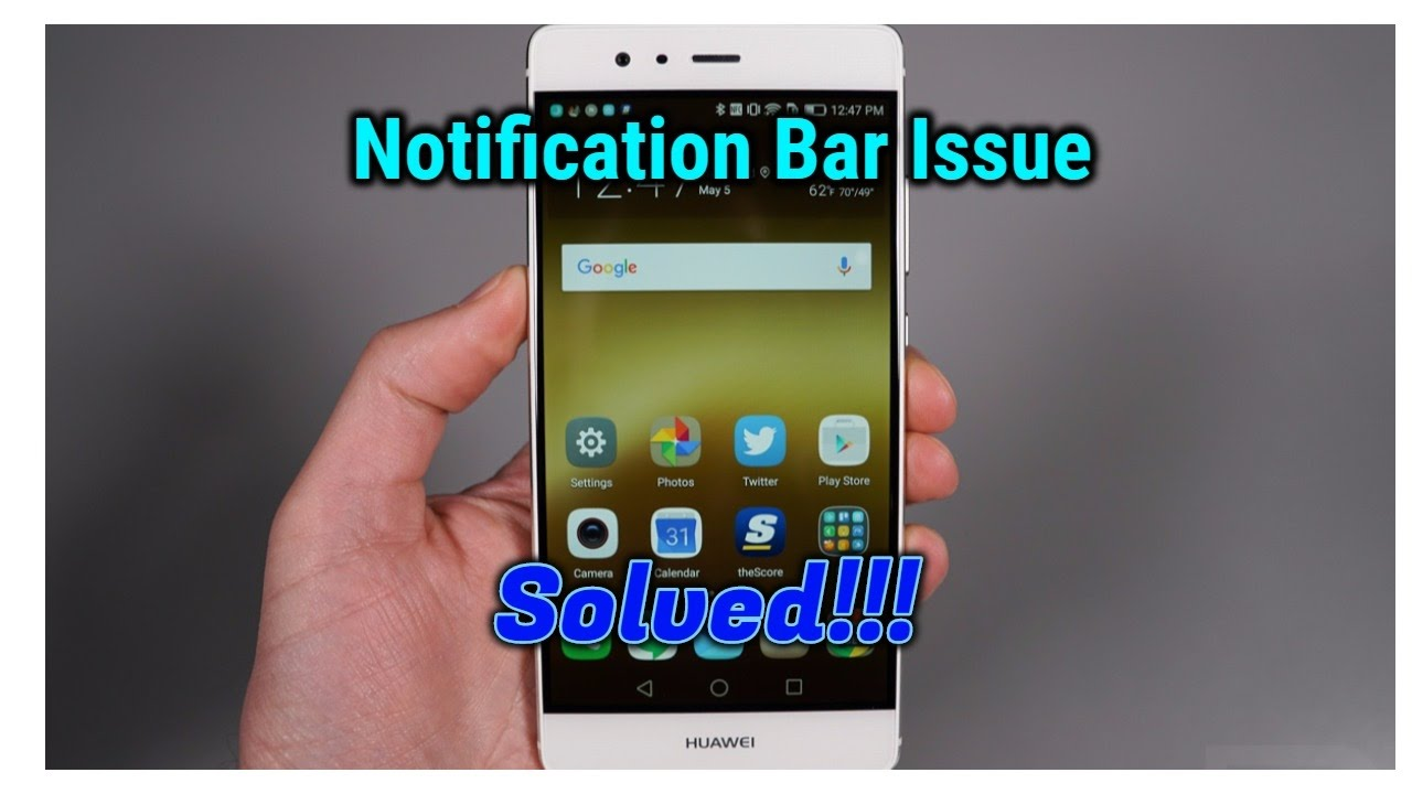 Notification Bar Not Working | Recent And Home Button  SOLVED!!!Android  7 0 1