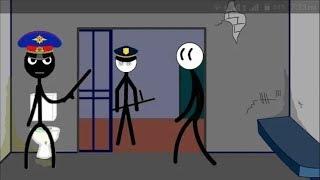 Stickman prison escape | Stickman Jailbreak 1 & 6 By (Dmitry Starodymov)